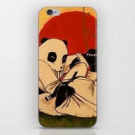JIU JITSU PANDAS iPhone Skin