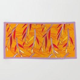 Willow Pattern Beach Towel