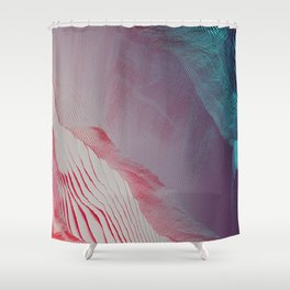 pixel dream K1 Shower Curtain