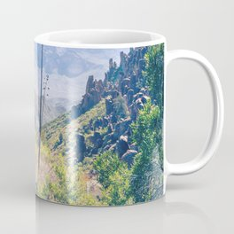 Vibrant Desert Landscape Coffee Mug