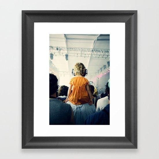 LuLu at Bon Iver Framed Art Print