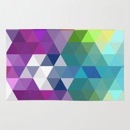 Pixel Prism Rug