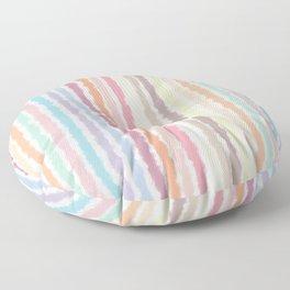 Pastel Stripes Floor Pillow