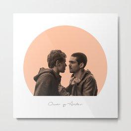 Omar and Ander  love cute Metal Print