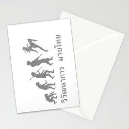 Muaythai Evolution Stationery Cards