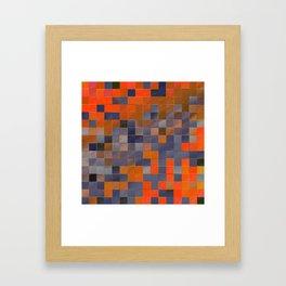 little colored squares -3- Framed Art Print