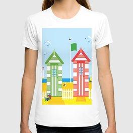 BEACH HUT T-shirt