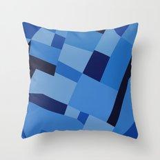 Peckham Blue 45 Throw Pillow