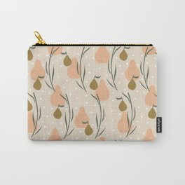 Pear shaped pattern Carry-All Pouch