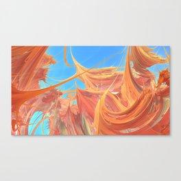 Spiky Wonderworld Canvas Print