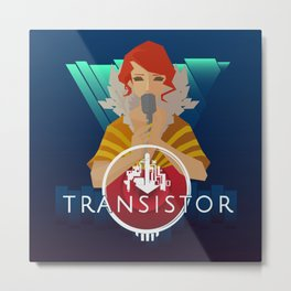 TRANSISTOR Metal Print