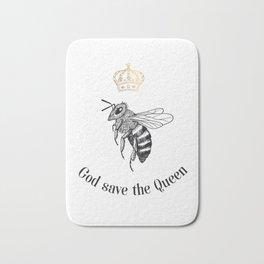 God save the Queen Bath Mat