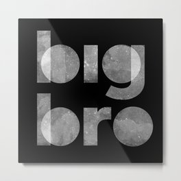 Big Bro Metal Print