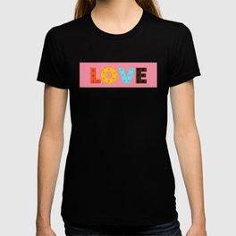 happy LOVE - typography T-shirt