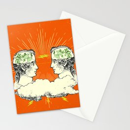 MIRRORED MEMORIES Stationery Cards