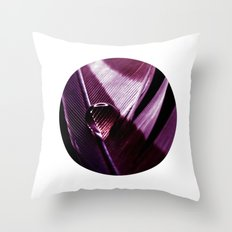 water drop IX Throw Pillow