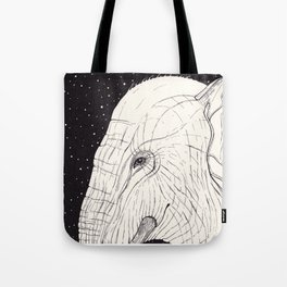 animal moments: elephant Tote Bag