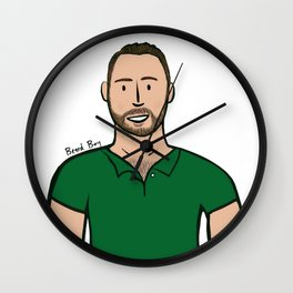 Beard Boy: Damien Wall Clock
