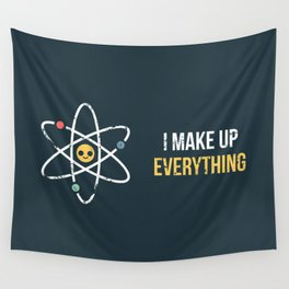 Never Trust an Atom Wall Tapestry