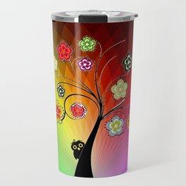 Healing Chakra Tree Travel Mug