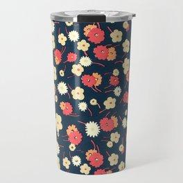 Vintage 1920s Textile Design - Charles Goy, 1929 Travel Mug