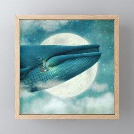 Finn and the Whale Framed Mini Art Print