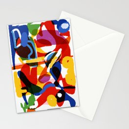 Abstract Meditation on Pluto Digital Drawing Stationery Cards