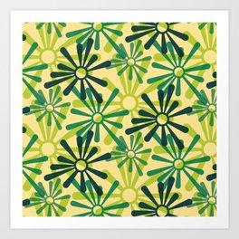 Geometric Seamless Pattern - Bugaboo 004#001 Art Print