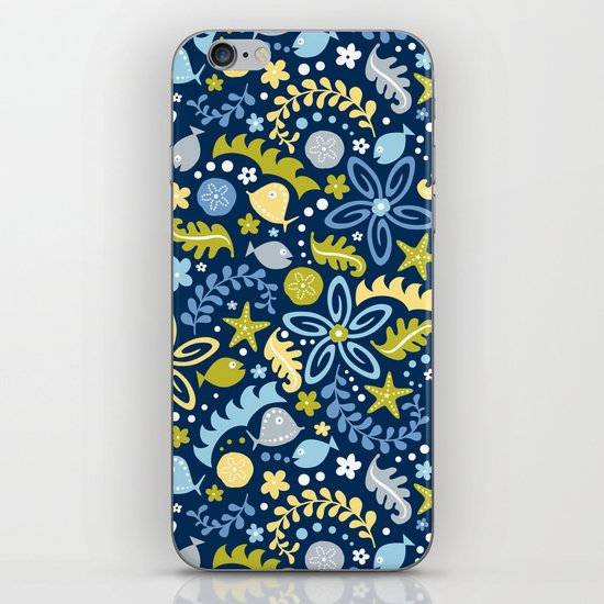 Tidal Pool iPhone & iPod Skin