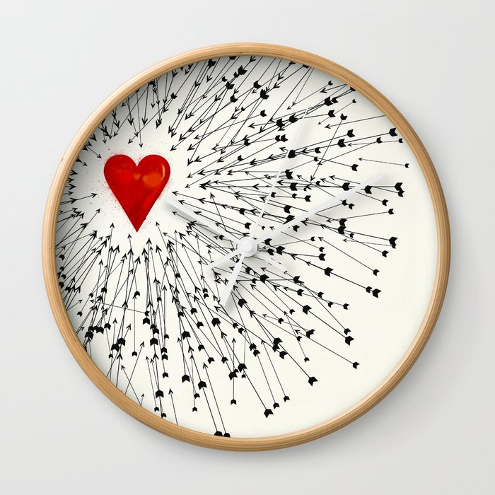 Heart&Arrows Wall Clock