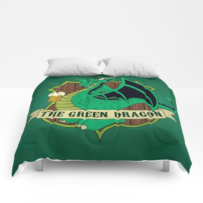 The Green Dragon Pub Comforters