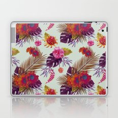 TROPICAL FLORAL PASSION Laptop & iPad Skin