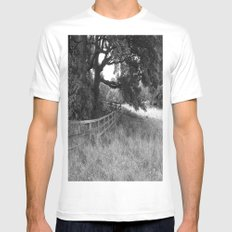 Like A Robert Frost Poem Mens Fitted Tee White MEDIUM