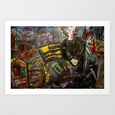 Irish Ghost Matriarch Revisited Art Print