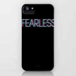 Fearless   Digital Art iPhone Case