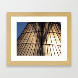 ARCH ABSTRACT 8: Khan Shatyr Center #1, Astana Framed Art Print