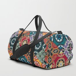 DESEO BOLD spanish tiles Duffle Bag
