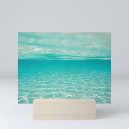 clear sea  Mini Art Print