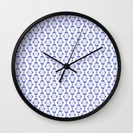 Tulip_Netherlands_Tulip Delft Pattern Wall Clock
