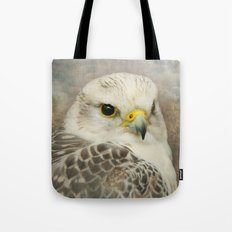 Portrait of a Hawk Tote Bag