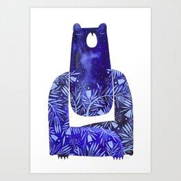 BlueBear Art Print