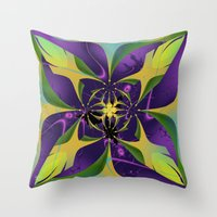 60s Throw Pillows featuring 60s Reunion by Jim Pavelle