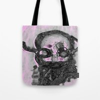 steampunk Tote Bags featuring SteamPunk by AnniarchyDesigns