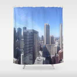 Rooftop Jams Shower Curtain