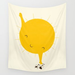Belly Rub Wall Tapestry
