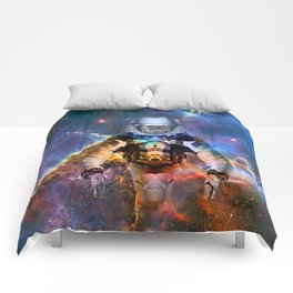 Astronaut Disintegration Comforters