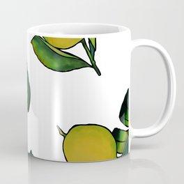 Tropical Lemons Coffee Mug