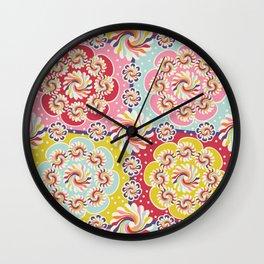 Mandala Quilt Wall Clock