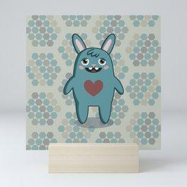 Love Bunny Mini Art Print