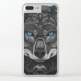 Lobo Illelo Clear iPhone Case